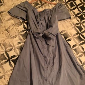 Miamï Oxford blue Button Down Dress